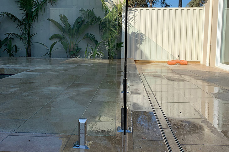 frameless-glass-pool-fence-keilor-park-melbourne