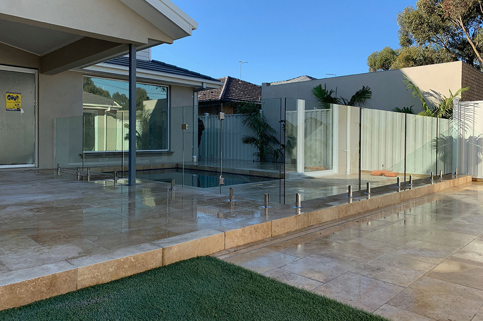 Glass Pool Fence Project in Keilor Park