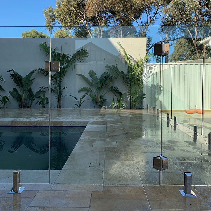 zero edge professional glass pool fence keilor park